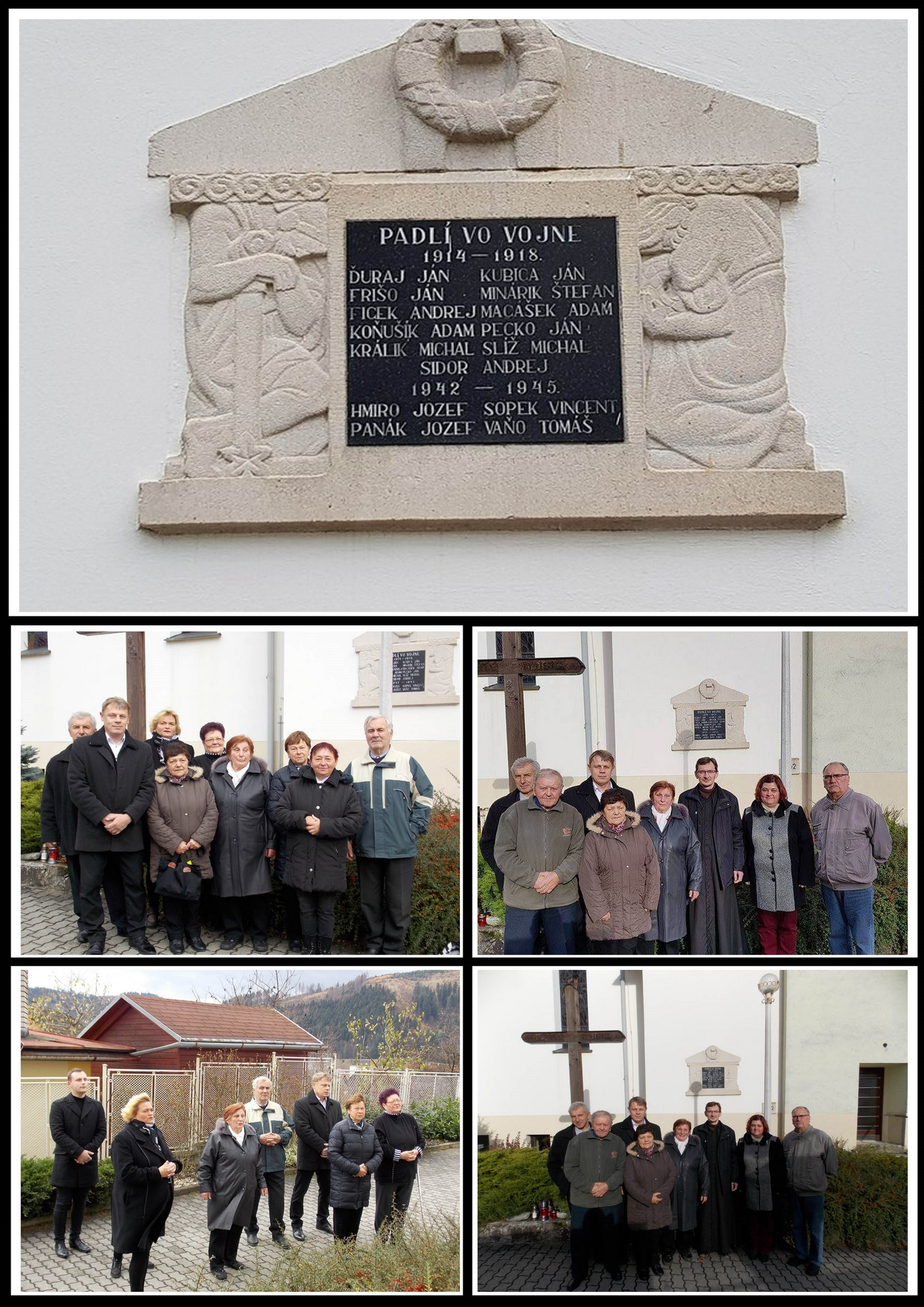 Pripomenutie si pamiatky padlých vojnových veteránov
