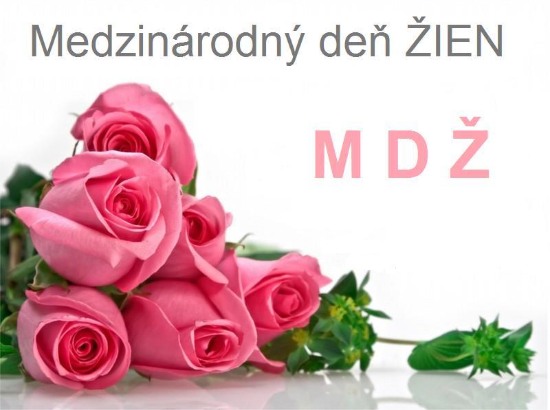 Blahoželanie k MDŽ